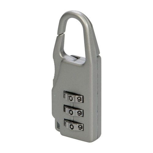 Silverline 646204 Travel Combination Luggage Padlock 3 Digit